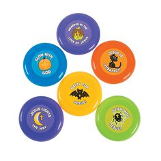 Little Boolievers Mini Flying Disks - OrientalTrading.com 72/$11