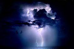 Lightening Strike, the darker site of nature