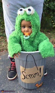 Oscar the Grouch Costume - 2015 Halloween Costume Contest via @costume_works