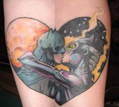 Batman and Catwoman Tattoo - Bing Images