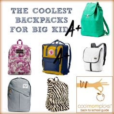 cool kids backpacks for school | BACK TO COOL: COOL BACKPACKS FOR ...