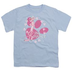 MGM/Pink Panther/Walk All Over Short Sleeve Youth 18/1 Light