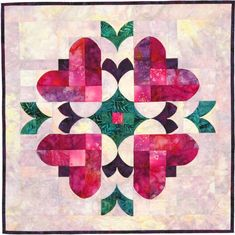 Quilt pattern: Heart to Heart @southwindquilts.com