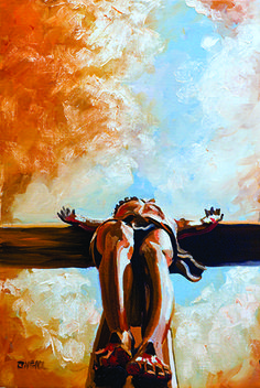 """Peter O'Neill Gallery - Independence Bank Collection/Forgiveness — """"That the promise of faith in Jesus Christ might be given to those who believe. Catholic Art, Religious Art, Croix Christ, Image Jesus, Figurative Kunst, Religion, Jesus Painting, Saint Esprit, Biblical Art"""