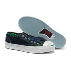 Converse Jack Purcell Garment Ox Retro Black-Green