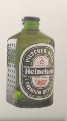 In 1963, Alfred Heineken created a beer bottle that could also function as a brick to build houses in impoverished countries