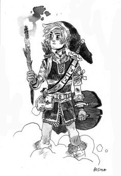 Link, from the Zelda series (obviously). I'm excited to pick up Skyward Sword after I'm finished Skyrim in eight or nine years.