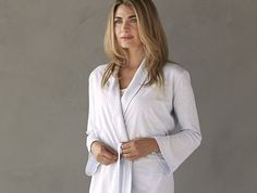 Women's Verbena Robe | Coyuchi-soft organic cotton