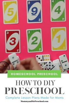 Homeschool Preschool Curriculum - Done for you Homeschool Preschool Lesson Plans for the entire school year. Educational Activities For Preschoolers, Kindergarten Math Activities, Preschool Worksheets, Homeschool Preschool Curriculum, Preschool Lesson Plans, Math For Kids, Kids Education, Crafts, Teacher Apron
