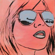 """Saatchi Online Artist Mary Nicholson; Painting, """"'Mirror'"""" #art"""