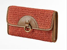 Have you seen these new shoes and handbags? They are made of straw and resemble basket-weaving. I like the look and the idea; however, actual use of one.. I'm a bit iffy on. Maybe one of you…