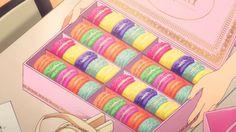 Kanako brings the debut girls some macarons, THE iDOLM@STER CINDERELLA GIRLS, Episode 6.