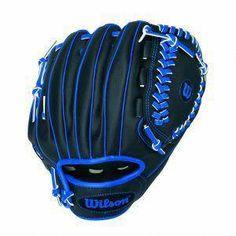 Wilson Sport Gift Kids Boys BaseBall Glove Right Hand Throw Black Blue Espn Baseball, Cleveland Indians Baseball, Baseball Helmet, Chicago Cubs Baseball, Baseball Socks, Baseball Shirts, Baseball Tickets, Baseball Players, Baseball Field