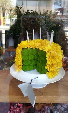 Tremendous 42 Best Flower Birthday Cakes Images Birthday Cake With Flowers Funny Birthday Cards Online Chimdamsfinfo