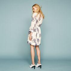FWSS Not Dead white bloom print dress - FWSS - Fall Winter Spring Summer - shop online