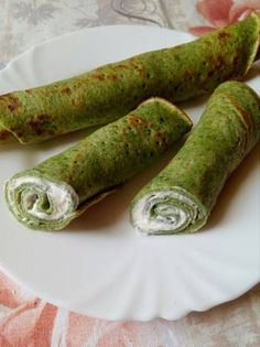Spenótos palacsinta fetás krémmel töltve Gluten Free Recipes, Healthy Recipes, Healthy Foods, Crossfit Diet, Vegas, Free Food, Cucumber, Food To Make, Recipies
