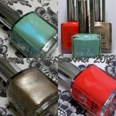 Sonia Kashuk Summer 2012 Nail Polishes - Swatches, Review and Target Gift Card Giveaway!