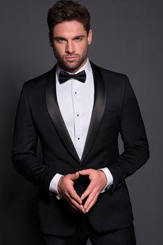 Ferrari Formalwear & Bridal | Wedding | Wedding Fashion | Classic Tuxedo | Bow Tie