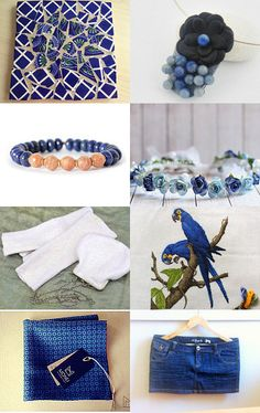 Blue Summer by Elaine on Etsy--Pinned+with+TreasuryPin.com