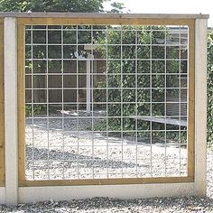fence alternative...grow vining plants on it?