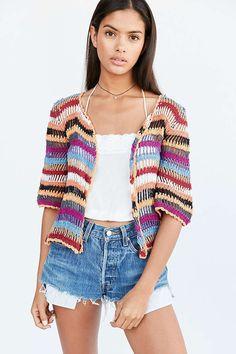 Cleobella Byron Crochet Cardigan - Urban Outfitters