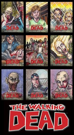 Walking Dead Comic Trading Cards by on DeviantArt Walking Dead Comics, The Walking Dead, Copic Markers, Trading Cards, How To Draw Hands, Deviantart, Artist, Collector Cards, Artists