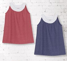 Made in Spain Polka Dot Top, How To Make, Tops, Women, Fashion, Dresses For Babies, Spring Summer, So Done, Moda