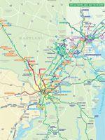 Maryland transit map for return
