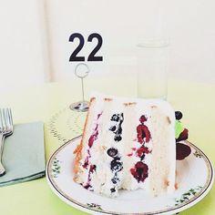 Crushin' on this triple berry cake from #sweetladyjane. Photo by @baelovesfood #crushinonthis