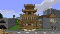 Minecraft Building Ideas: Japanese House