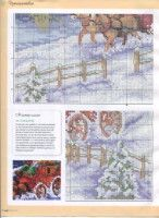 Gallery.ru / Фото #8 - ФР_01(46)_2013 г. - f-morgan Christmas Cross, Cross Stitch Charts, Vintage World Maps, Creations, Diagram, Glasses, Bricolage, Eyewear, Eyeglasses