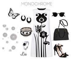 """""""Livin in Black & White"""" by coolmommy44 ❤ liked on Polyvore featuring Victoria, Victoria Beckham, Avenue, STELLA McCARTNEY, Bling Jewelry, Komar, monochrome, blackandwhite and polyvorecontest"""