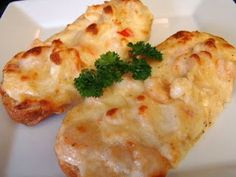 Cajun seafood bread.  What could be better?  Shrimp & crab, YES!!!!