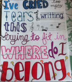 Lyrics art of ''hopeful'' by Bars and Melody