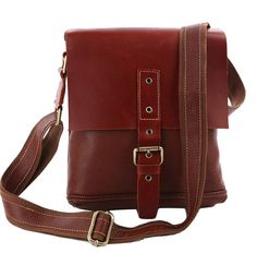 SAIERLONG Men's messenger shoulder handbags Genuine Leather ** Want to know more, click on the image. (This is an Amazon Affiliate link and I receive a commission for the sales)