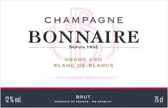 Champagne Bonnaire - Grand Cru Blanc de Blancs