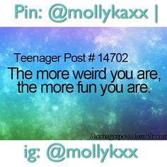 Teenager Post Edits