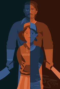 luke and clementine | ... , and the person who got shit done, while Clementine was his hope