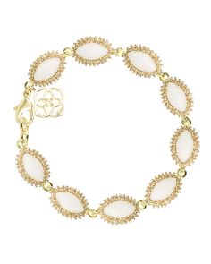 Kendra Scott Jana Bracelet in White Pearl. My bday present from my hubby :)