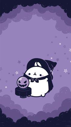 kawaii wallpapers Hatsune Miku is part of Molang - Kawaii Halloween, Theme Halloween, Halloween Wallpaper Iphone, Fall Wallpaper, Kawaii Wallpaper, Cute Wallpaper Backgrounds, Wallpaper Iphone Cute, Cute Cartoon Wallpapers, Cute Kawaii Backgrounds