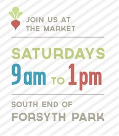 Forsyth Farmer's Market in Savannah, Georgia | Support Local Food | From the very beginning, the FFM has focused on food and food issues which is why it is a producer-only market (meaning all vendors have to be producing at least 75% of the products they sell)  and allows only food and plant vendors. | Saturdays: 9am to 1pm @ South End of Forsyth Park