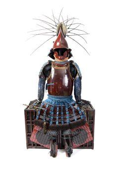 Nimaid tosei gusoku style armor. Momoyama period. At Espace4 Gallery