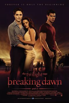 2011 movies | ... Saga: Breaking Dawn - Part 1, The (2011) poster - FreeMoviePosters.net
