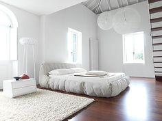 modèle deco chambre adulte blanche