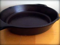 How to care for cast iron and reseason