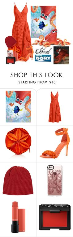 """Hank"" by allyssister ❤ liked on Polyvore featuring Artissimo, Disney Pixar Finding Dory, Trina Turk, Nancy Gonzalez, Joie, The Elder Statesman, Casetify and NARS Cosmetics"