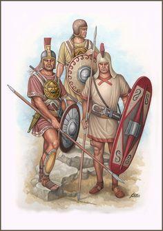Iberian Warriors in Carthaginian service.