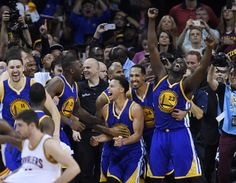 Golden State Warriors Win The 2015 NBA Championship