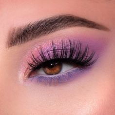 Purple Eyeshadow Looks, Purple Makeup Looks, Purple Eye Makeup, Makeup Eye Looks, Eye Makeup Art, Colorful Eye Makeup, Cute Makeup, Eyeshadow Makeup, Drugstore Makeup