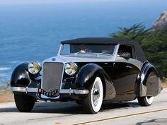 1938 Delage D8 120 Cabriolet by Saoutchik